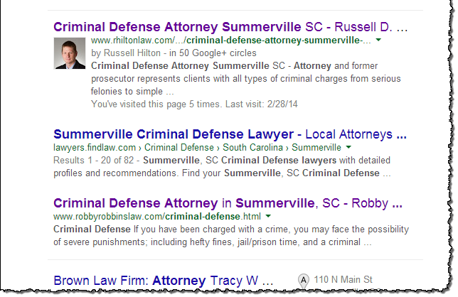 Google Authorship for Attorneys