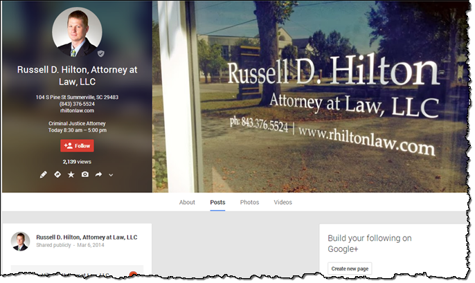 Google Plus for Attorneys