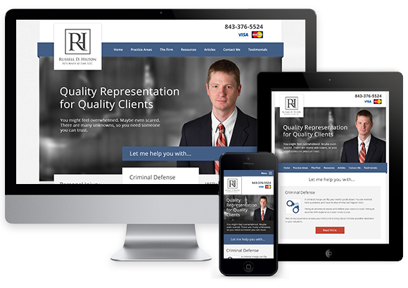 Attorney Web Design Law Firm Seo Columbia Sc
